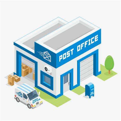 bureau poste li鑒e bureau de poste bureau marchandises png et vecteur pour