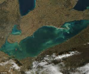 Government Records Made In 1973 Revealed That The Fbi Algae Bloom In History Hits Lake Erie And It Is Large Enough To Cover New