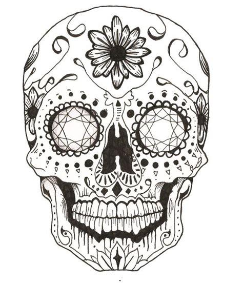 sugar skull candy skull day gallery mexican skull drawings drawings gallery