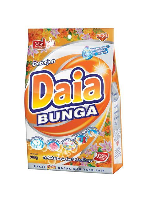 daia putih 900 gram daia detergent bubuk sensasi extrak bunga bag 900g