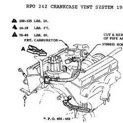 pcv vs road draft tube corvetteforum chevrolet