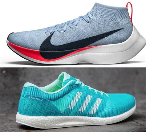 nike vs adidas running shoes nike zoom vaporfly elite vs adidas adizero sub2 boost