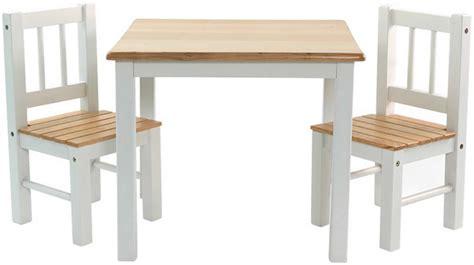 stuhl und tisch kinder sitzgruppe mit kindertisch tisch und 2 st 252 hlen