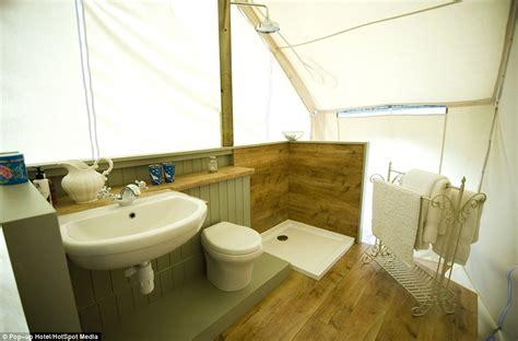 En Suite Bathroom Ideas Glastonbury S Luxury Pop Up Hotel Where Most Expensive