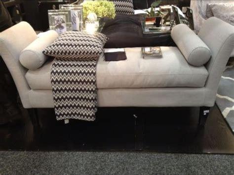 stunning grey bed  ottoman foot stool  cushions