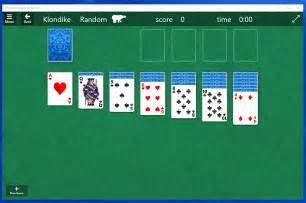 how to play solitaire on windows 10 top