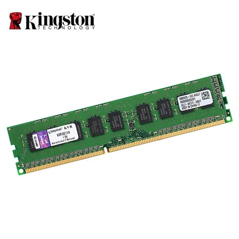 Ram Pc Kingstone kingston 1600mhz ddr3 ecc cl11 dimm 8gb unbuffere desktop ram 72 bit pc3 12800 server memory ram