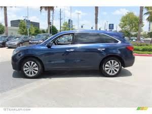 Acura Mdx Blue 2016 Acura Ilx Blue Automotive News