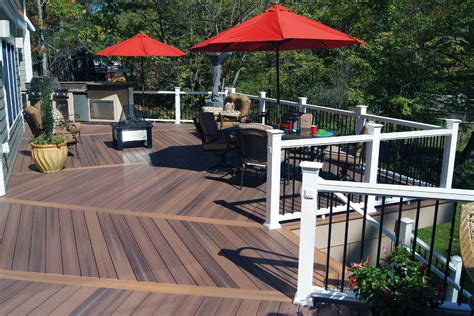 Build a low maintenance and durable composite deck for