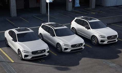 Volvo Lineup 2020 by Volvo Adds 415hp Polestar Engineered V60 Xc60 Phevs To