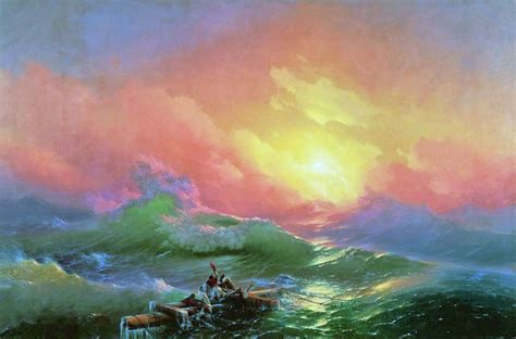 pics for gt ivan aivazovsky the ninth wave ivan aivazovsky melt