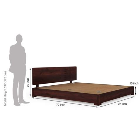 Bed Height by Low Height Bed Bottom Storage