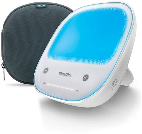 philips golite energy light rechargeable style energy light w travel pouch