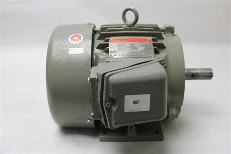 3 phase induction motor ebay tatung max wh0034ffac 3hp 3 phase induction motor class i tffc ebay