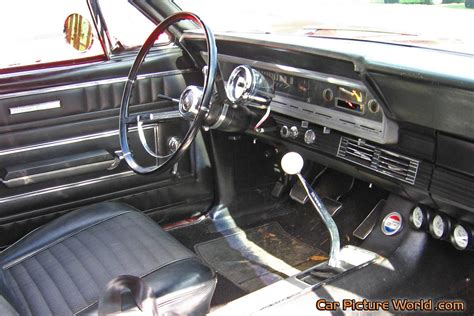 1966 Ford Fairlane 500 Convertible Interior