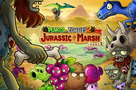 boat parts zombies plants vs zombies 2 update mixes dinosaur with