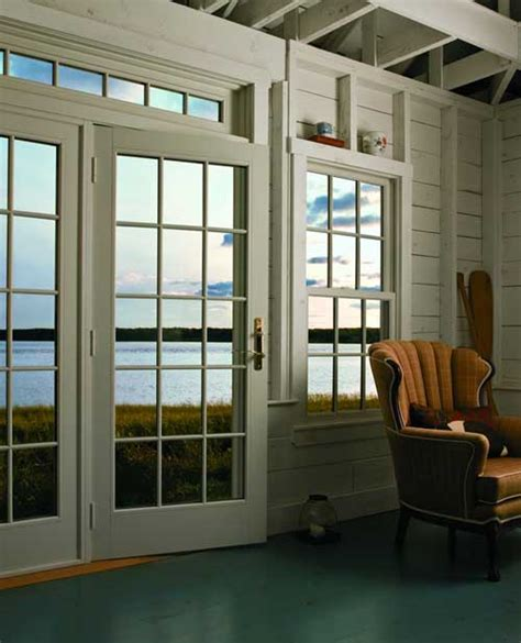 400 Series Frenchwood Hinged Patio Door by Andersen 400 Series Frenchwood 174 Hinged Patio Door