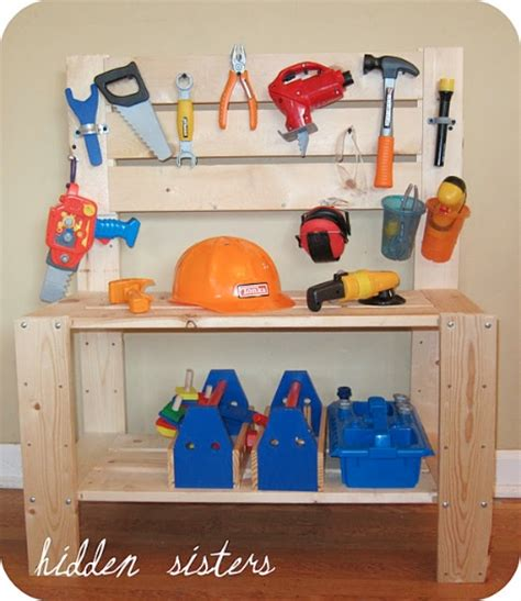 girls tool bench homemade gifts for kids