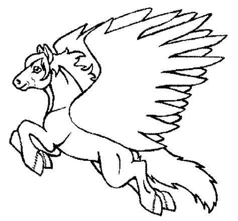 imagenes de unicornios volando dibujo de pegaso volando 1 para colorear dibujos net
