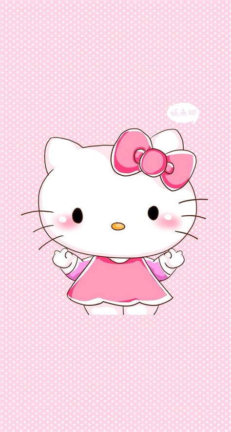 wallpaper hello kitty pink for iphone iphone 5 wallpaper cute background free bg hello kitty