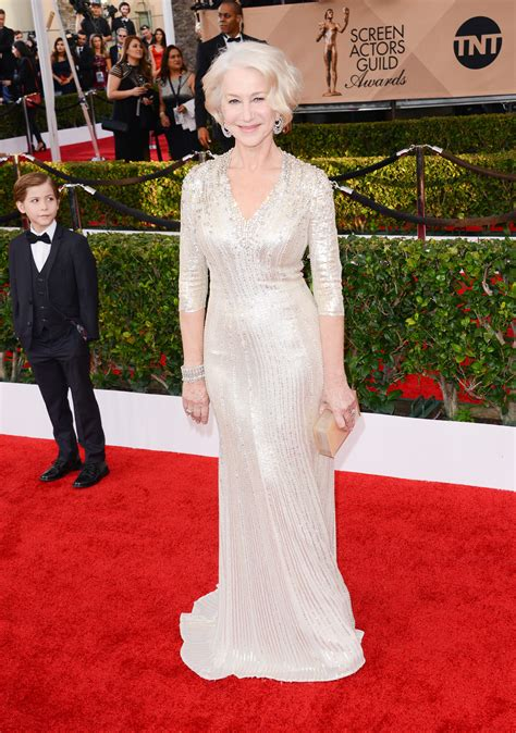 Helen Mirren Has At Sag Awards by Sag Awards Fugs And Fabs Everyone Else Helen Mirren In