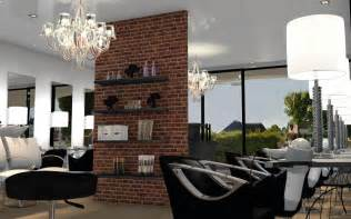 Garage Loft Design salon de coiffure style industriel