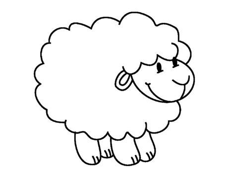 clipart de ovejas para colorear imagui dibujo para colorear de ovejas