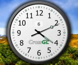 crossgl surface clock gorgeous maxi clock for your