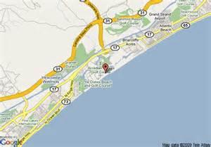 us map myrtle sc map of myrtle resort myrtle
