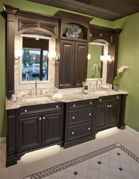 manhattan bathroom cabinets traditional design style using manhattan wide in cherry