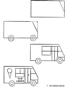 Cool Things To Draw Advanced by How To Draw A Truck Misc Advanced