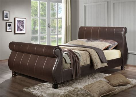 Leather Bed Uk by Leather Bed Frames 171 Dreamlinez Beds