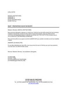proposition d achat de soci 233 t 233 template sle form