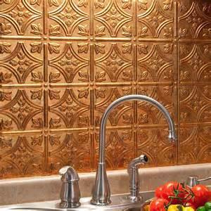 home interior fasade backsplash painting traditional pvc decorative panel copper fantasy