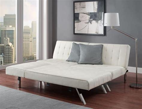 emily futon vanilla click clack futon dimensions home design tips and guides