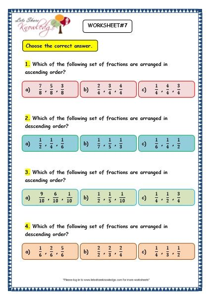 ascending descending order worksheets all worksheets 187 maths ascending order and descending