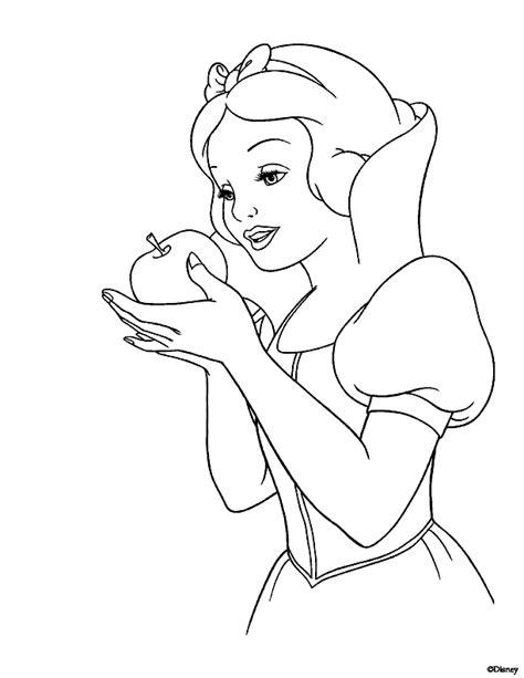 imagenes de blancanieves dibujos para colorear de blancanieves y los siete enanitos