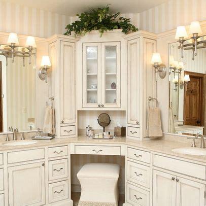corner bathroom vanity ideas best 25 corner bathroom vanity ideas on pinterest his