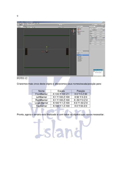 unity tutorial island tutorial desenvolvendo pong no unity 3d victory island