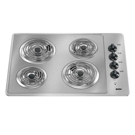 top electric cooktops kenmore 41203 30 quot electric cooktop