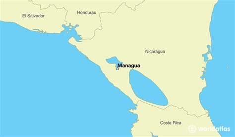 nicaragua location on world map where is nicaragua where is nicaragua located in the