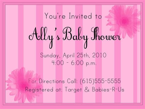 Exles Of Baby Shower Invitations by Baby Shower Invitation Sle By Partnaznkrime On Deviantart