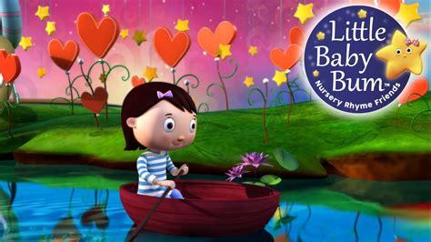 row your boat little baby bum row row row your boat nursery rhymes by littlebabybum