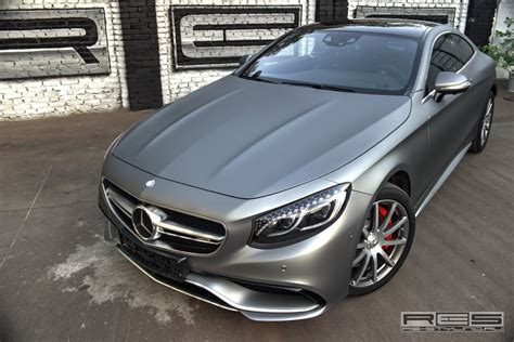 matte grey matte grey mercedes benz s63 amg coupe by re design gtspirit