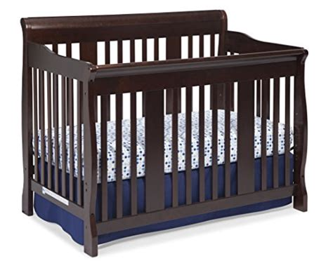 Crib History by Stork Craft Tuscany 4 In 1 Convertible Crib Espresso