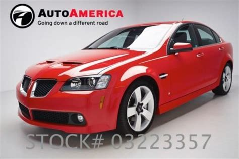 pontiac g8 for sale by owner buy used 2009 pontiac g8 gt 5k low carfax one owner