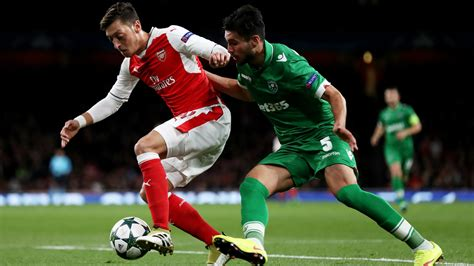 arsenal chions league final arsenal 6 0 ludogorets match report 19 10 2016 uefa