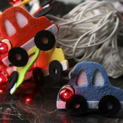 car string lights felt car decorative string lights what s new