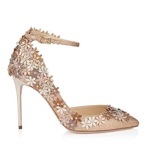 scarpe co dei fiori decollete jimmy choo con applicazioni floreali scarpe da