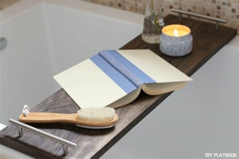 How To Make Your Own Diy Bathtub Tray The Diy Playbook